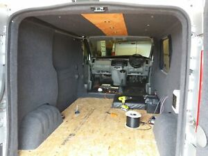 Van Lining Carpet 4 Way Stretch 10sq m & 5 Cans Adhesive - Anthracite