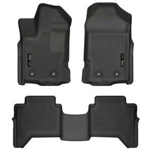 Husky Liners 94101 Weatherbeater Front & 2nd Seat Floor Liners for Ford Ranger