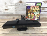 Microsoft XBOX 360 Kinect Sensor Bar ONLY Model 1473 w/ Kinect Adventures Game