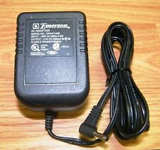 Genuine Emerson (Dpx411409) 4.5V 600mA Class 2 Ac Adapter Power Supply Cord