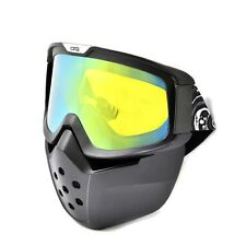 Adults UV Surfing Jet Ski Snow Snowboard Goggles Goggles Mask Face Nose Shield