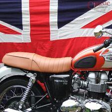 Triumph Bonneville Motorcycle Seat Brown