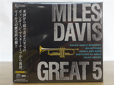 ESOTERIC SACD MILES DAVIS GREAT 5 Japan SACD Super Audio Hybrid BOX SET F/S NEW