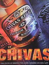 PUBLICITÉ 2003 CHIVAS REGAL 12 YEARS PREMIUM SCOTCH WHISKY - ADVERTISING
