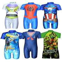 Boys Swimwear Swimsuit Surf Suit Childrens Character Swimming Costume Age 1-5 Yr