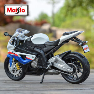 Maisto 1/12 BMW S1000 RR Motorcycles Assembled Building Toy Diecast Car Display