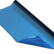 BLUE TRANSPARENT REAL CELLOPHANE ROLLS FLOURIST CRAFT FILM GIFT WRAP 500MM X 5M