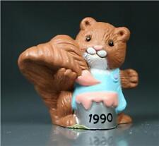 Hallmark Merry Miniature 1990 Squirrel with Paintcan