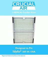 Idylis A HEPA Air Purifier Filter Fits IAP-10-100, IAP-10-150 Model # IAF-H-100A