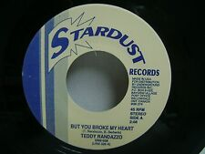 "TEDDY RANDAZZO - But you broke my heart / Happy Ending  -  7"" Vinyl Record"