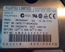 Hard Disk Drive IDE Fujitsu Limited MPD3084AT CA05177-B93400EW 603-0344