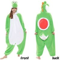 SAZAC Super Mario Brothers Yoshi Fleece Costume Halloween Unisex Adult Japan New