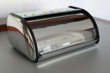 Cassetta Portapane da Esterno in Acciaio Inox Salvafreschezza, 35 x 24 x 15 cm