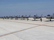 Guerra Militar Air Force Fighter Jet Airfield Runway f35b escuadrón Cartel bb3296a