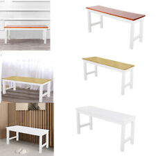 3FT Solid Pine Wood Long Bench Dining Room Kitchen Hallway Garden Seat Bench