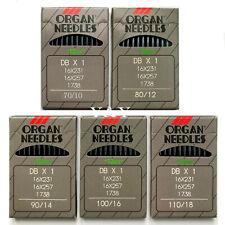 Organ Industrial Sewing Machine Needles Dbx1 16X231 1738 Db1 Sizes 10 per pack