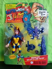Playmates Earthworm Jim Princess What's-Her-Name w/ Spring Loaded Bug Launcher!