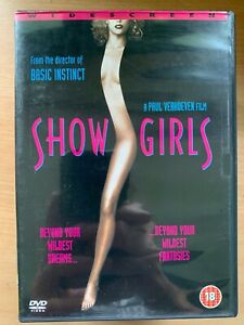 Showgirls DVD 1995 Las Vegas Strippers Erotic Cult Movie Drama Classic