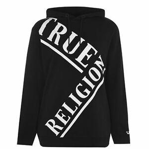 Mens True Religion Logo Hoodie OTH Long Sleeve New