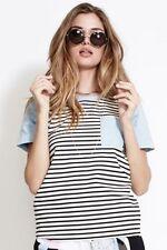 Nylon Short Sleeve Tunic Casual Tops for Women