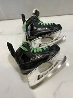 Used Bauer Supreme S180 Ice Hockey Skates Size 1D Jr Junior Size 2us