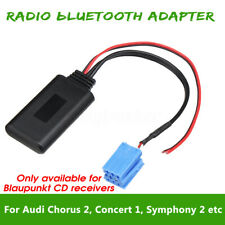 AUX bluetooth Radio Cable Adapter For AUDI Chorus 2 Concert 1 2 Symphony 1