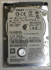 "HGST 500gb SATA Hard Drive 2.5"" 7.5K rpm HTS725050A7E630"