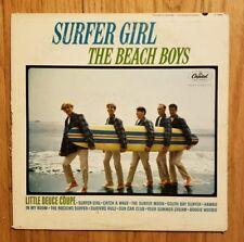 THE BEACH BOYS Surfer Girl LP 1963 MONO Orig T-1981 Los Angeles/Scranton Press
