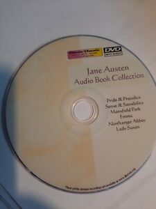 JANE AUSTEN : Unabridged Audiobook Collection Mp3 DVD 9 Titles 40+ Hrs