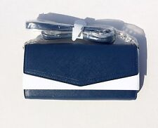 NEW! Navy Jet Set Travel Womens' Wallet on a Chain Shoulder Crossbody Bag