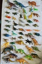 50 Dinosaur Toys Assorted Realistic Lot Pack Figures Plastic Jurassic World