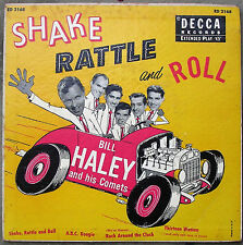 Bill Haley classis EP Shake, Rattle & Roll 1955, hard cover