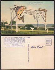 Old Minnesota Postcard - Duluth - Fish Fry Lodge - Hotel, Restaurant