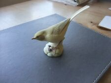 Wonderful Figurine Of A Yellow Wagtail By Aynsley