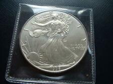 1996 American 0.999 Fine Silver Uncirculated Eagle Business Strike