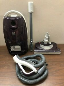 Kenmore 116 Progressive True Hepa Canister Vacuum Cleaner, 12 Amps  READ DISC!