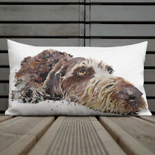 German Wirehaired Pointer Premium Pillow/Cushion