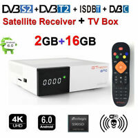 TV BOX GTMEDIA GTC Android 6.0 Amlogic TV Caja WiFi 4K 3D Media Player DVB-S2/T2