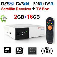 TV BOX GTMEDIA GTC Android 6.0 Amlogic TV Caja WiFi 4K 3D Media Player DVB-S2/T2