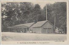 FRENCH MILITARY CAMP de CERCETTES Officers Mess Vintage Patriotic PC Loiret 1906