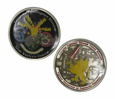 Geospatial Intelligence Division Joint Analysis Center Challenge Coin