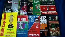 More details for league cup final programmes, 1971 1975, 1977, 1978, 1979, 1982, 1984, 1989, 2006