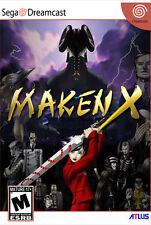 Framed Sega Dreamcast Game Print – Maken X (Tekken Gaming Arcade Classic Picture