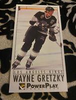Wayne Gretzky HOF 1993-94 Fleer Power Play Unique Hockey Card #116 LA Kings HOF