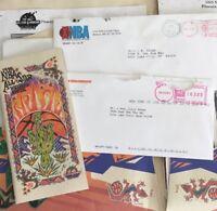 All Star Weekend 1995 Phoenix Nba Jerry Sloan Utah Jazz Folder Itinerary