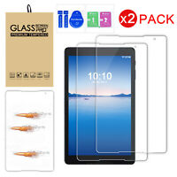 TEMPERED GLASS Screen Protector Film for Alcatel 3T 10 inch 2019 Tablet 2 PACK