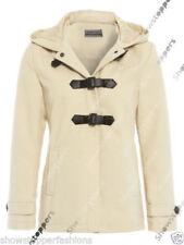 Cappotti e giacche da donna grigia con bottone automatico, taglia 44