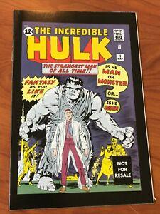 Incredible Hulk #1 Marvel Legends reprint hasbro VF
