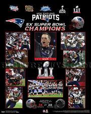 New England Patriots Super Bowl 51 Championship Picture Plaque