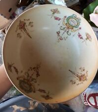 Antique crown devon S.F & Co Sevres Punch Fruit Dessert Serving Dish ivory ware